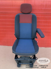 Seat Opel Vauxhall Movano Master NV400 captain driver adjustments armrest airbag
