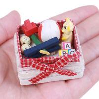 1:12 Dollhouse Mini-Model Scene Bear Box Children'S Room Accessories AU
