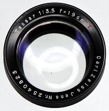 Carl Zeiss Jena 19cm f3.5 Tessar T* Barrel Lens  #2540823