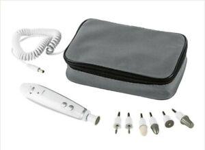 Nail Technicians Manicure & pedicure Drill/ Grinder set, Mains adaptor, 7 tools