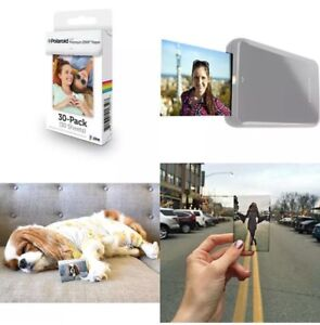 """Polaroid 2x3"""" ZINK Photo Paper 30 SHEETS LG Zip PoGo Snap Touch HP Z2300 Instant"""