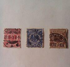 IMPERO Tedesco Francobolli-USATI - 1899-AQUILA IMPERIALE-Germania