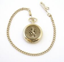 Rampant Lion Pocket Watch Gift Boxed FREE ENGRAVING Scottish Gift