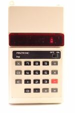 VINTAGE PRINZTRONIC CALCULATOR RED LED 1970'S MADE IN JAPAN