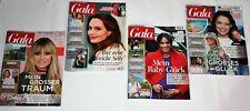 4 x Gala Zeitschriften Zeitungen neuwertig