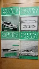 More details for yachting monthly & motor cruising 1947 - 4 vintage magazines - great adds etc...