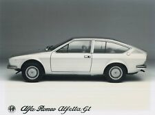1967 ALFA ROMEO ALFETTA GT 1.6 FACTORY PRESSE PICTURE BILD WERKFOTO *ORIGINAL*