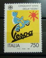 1996 Italia Singolo  50° della Vespa    750 lire  MNh**