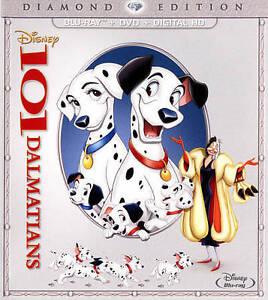 101 Dalmatians Diamond Edition BLU-RAY 1961