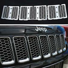 Chrome Front Grill Mesh Grille Insert Fits For Jeep Grand Cherokee 2014-2016 ls