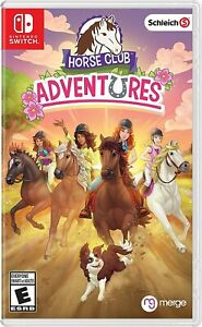 Horse Club Adventures Nintendo Switch - Brand New Factory Sealed