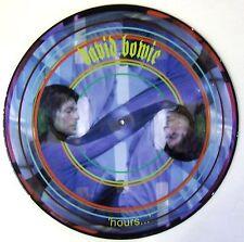 DAVID BOWIE VINYL LP - HOURS - PICTURE DISC