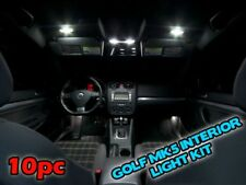VW GOLF MK6  INTERIOR LED Car Light Bulbs KIT WHITE 10 pc map glove box roof