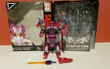 Transformers Generations Titans Return TR Alpha Trion 2016