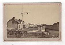 PHOTO CABINET - Couseulles-sur-Mer Vers 1900 Normandie Architecture Pavés
