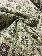 Hammond Marrón Tela de chenille Panamá Cortina resistentes para tapicería
