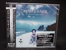 DREAM THEATER A Change Of Seasons JAPAN SHM CD Majesty The Winery Dogs Adrenalin