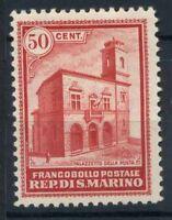 San Marino 1932 Sass. 160 Nuovo * 100% Palazzetto della Posta