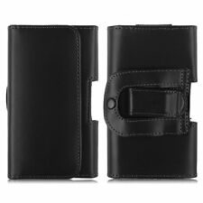 Leather Case Cover Pouch Holster Belt-Clip Samsung iPhone LG Universal ALL Phone