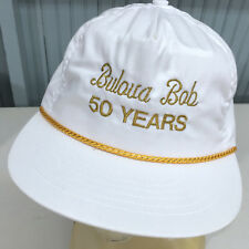 Bulova Bob Fifty Years Watch Repair Snapback Baseball Cap Hat USA