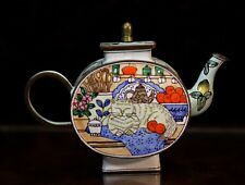 Charlotte Di Vita Miniature Teapot -  limited edition - Cat