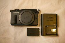 Canon EOS M 18.0 MP Digital Camera Black Body Only