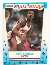 ISIAH THOMAS - SIGNED/AUTO/AUTOGRAPH ON A BASKETBALL CARD - BOSTON CELTICS