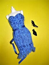 Barbie Look Basics TAGGED Doll Clothes Lot LACE SHEATH DRESS Collector TAG
