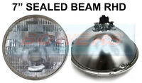 "7"" GENUINE SEALED BEAM HEADLIGHT HEADLAMP UNIT FOR CLASSIC CAR SB7014 RHD UK"