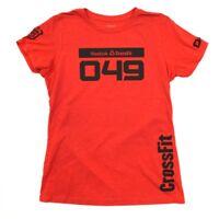 Reebok Women's CrossFit Annie Sakamoto 049 Santa Cruz Red T-Shirt