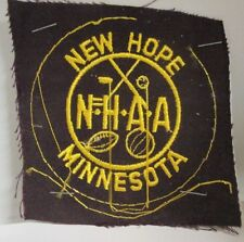 New Hope Minnesota Athletic Association Jacket patch - AS SHOWN