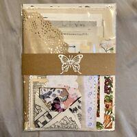 Pack of 70 Varied Ephemera Items For Junk Journal Vintage Scrapbook Collage