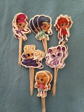 Cupcake Cake Toppers Shimmer And Shine 24pcs