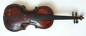 Ancien violon entier 4/4 JACOPO BRANDINI 18e siècle violin violine
