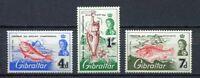 29613) Gibraltar 1966 MNH New Fishing - Fishs 3v
