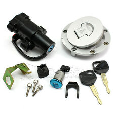 Ignition Switch+Gas Cap Cover Lock+Key Set For Honda VFR800 CBR600 RR CBR929RR