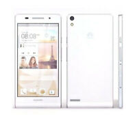 """Huawei Ascend P6 White Unlocked 4.7"""" 3G 8.0MP 2GB+8GB Android Smartphone"""