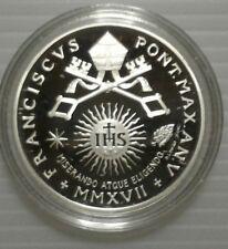 Moneta argento Citta Del Vaticano 10 euro 2017 XXV Giornata Mondiale Del Malato