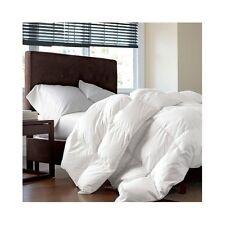 Full/Queen Down Alternative Comforter White Goose Bedding Bedroom Set Microfiber