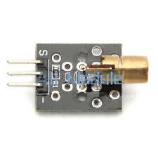 2 PCS Laser Head Sensor Module 650nm 6mm 5V Red Laser Dot Copper for AVR PIC AM