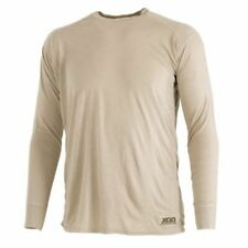 Xgo ~ Phase 1 Flame Retardant~  Lightweight Crew Tan T-shirt ~ Size Large ~ New