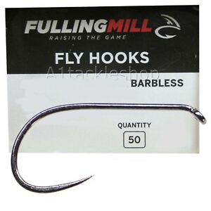 Fulling Mill 35050 Ultimate Dry Barbless Fly Tying Hooks