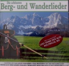 Die schönsten Berg- und Wanderlieder (CD)
