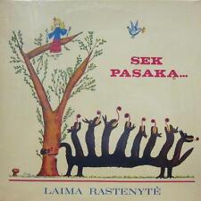 Sek Pasaka(Vinyl LP)Laima Rastenyte-Vera-847L 4476-US-M/M