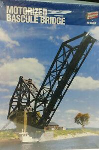 Walthers 933-3070 HO Motorized Bascule Bridge Building Kit, Unopened