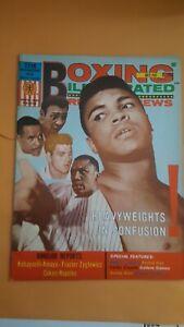 Vintage Boxing Illustrated + Ringside News Magazine: July 1969. Muhammad Ali.
