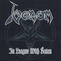 VENOM - IN LEAGUE WITH SATAN (RE-RELEASE)  2 CD NEU