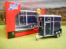 BRITAINS IFOR WILLIAMS HB506 HORSEBOX TRAILER NAVY BLUE 1/32 42916 BRAND NEW