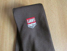 Vintage GMWU General and Municipal Workers Union Unity is Strength Tie by TOOTAL