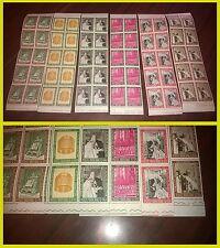 Vaticano 1965 Concilio ecumenico Vaticano secondo 6 strisce francobolli NUOVI